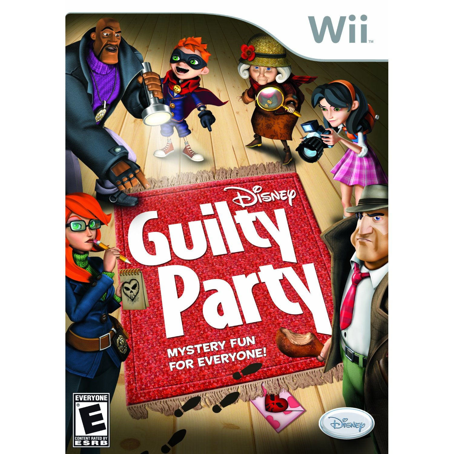 Guilty Party Guilty Party Wii Game Review