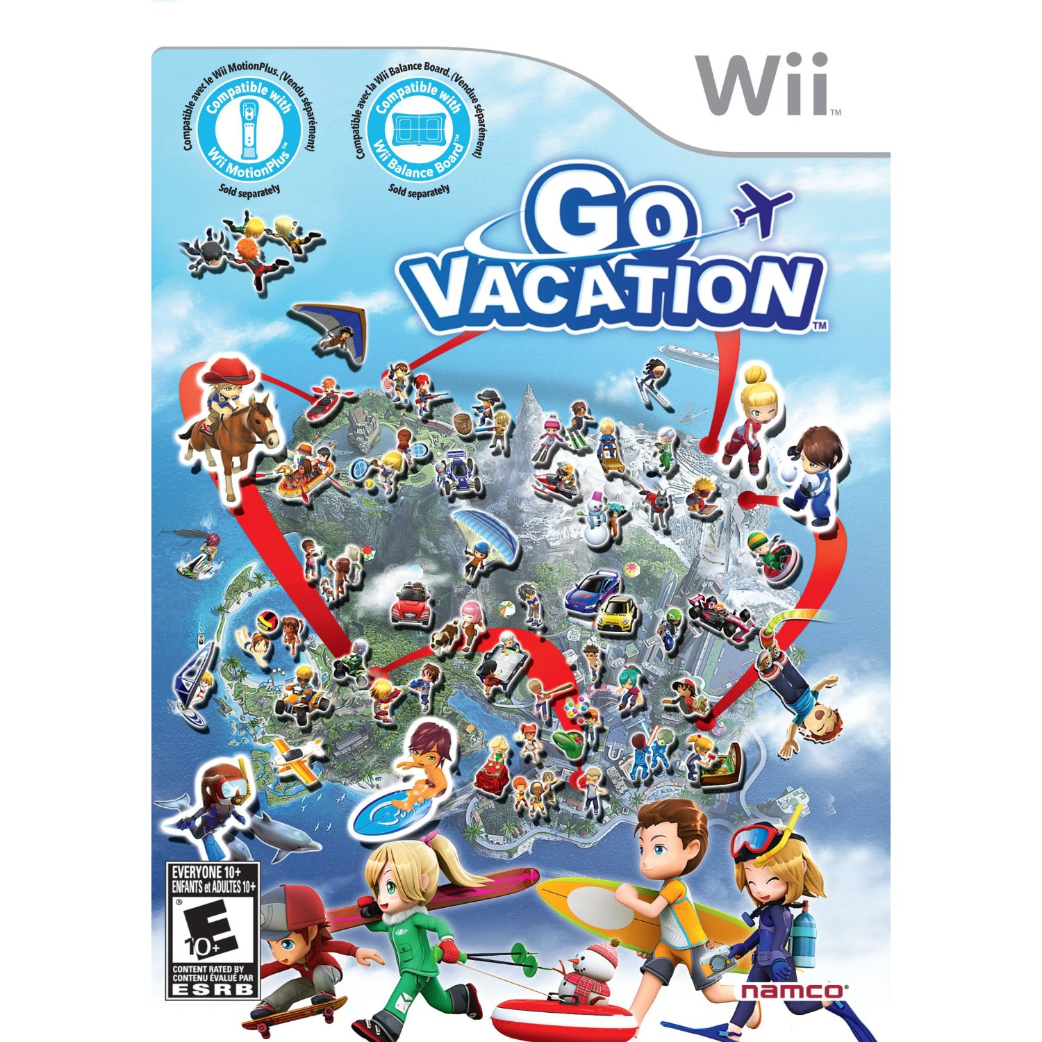 Go Travel Vacations: Wii Go Vacation Game Review