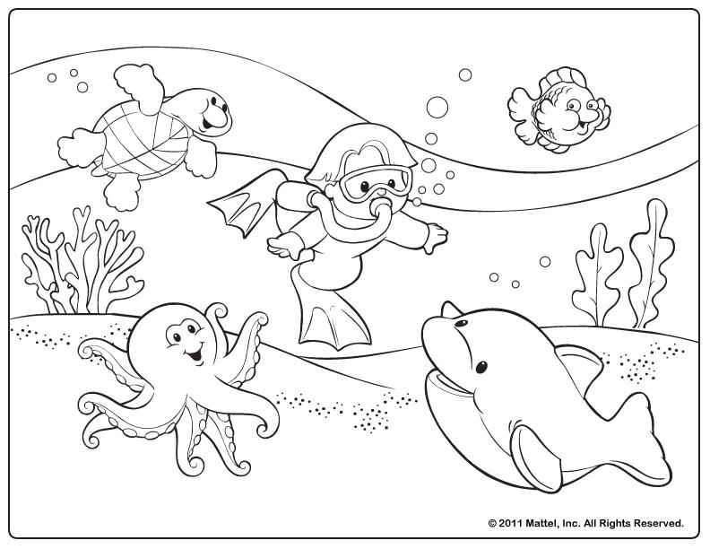 free coloring pages summertime - photo#6