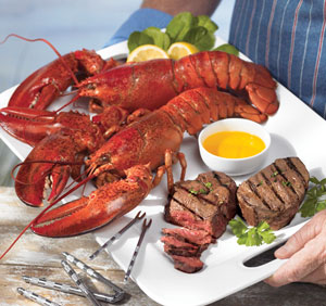 Steak & Lobster Surf & Turf LobsterGram #Giveaway - Mommies with Cents