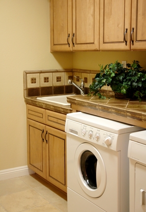 7 laundry room remodeling tips mommies with cents for Not just kitchen ideas