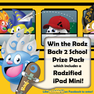 Radz Facebook Contest Image for Bloggers