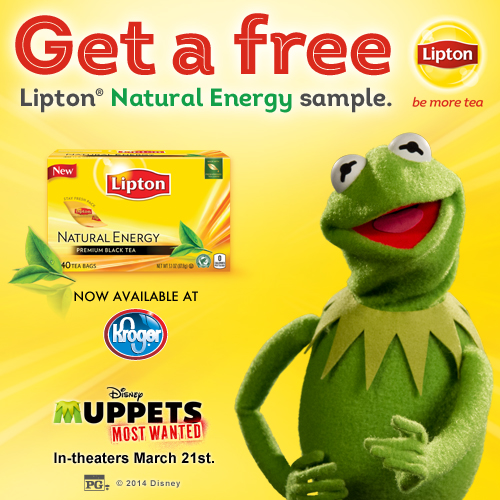 FREE Sample of Lipton Natural Energy From Kroger to The First 40,000 People