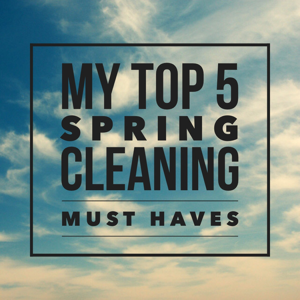 My Top 5 Spring Cleaning Must Haves + Soniclean Vt Plus Vacuum Review