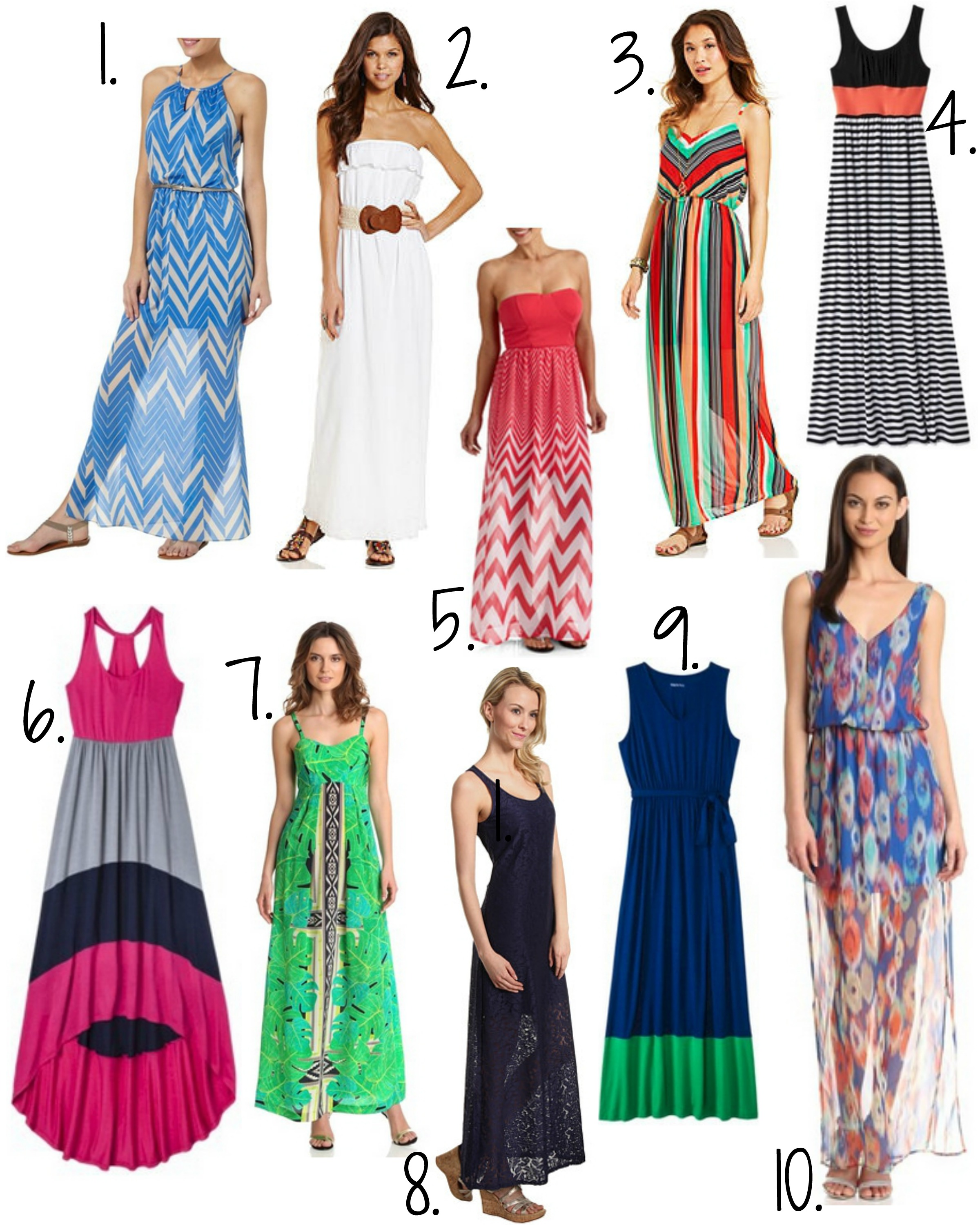 Frugal #Fashion: Maxi Dresses for Summer - Mommies with Cents