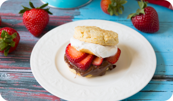 stawberry shortcake smores