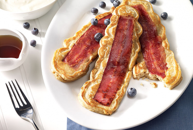 turkey bacon pancakes