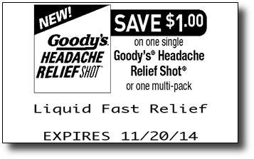 Goodys Headache Shot