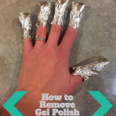 Manicure Monday: How to Remove Gel Polish with the Foil Method