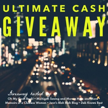 Ultimate Cash Giveaway - May