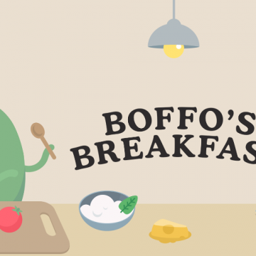 Introducing Dumb Ways JR Boffo's Breakfast #DumbWaysJR AD