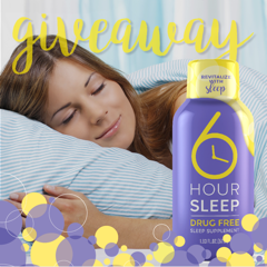 6 Hour Sleep — Get a Better Night's Rest! #Giveaway