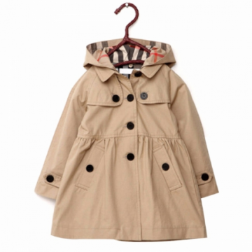 Girl's Button Down Swing Trench Coat Only $11.69!