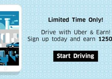 Get Over $90 in Gift Cards When You Earn With Uber!