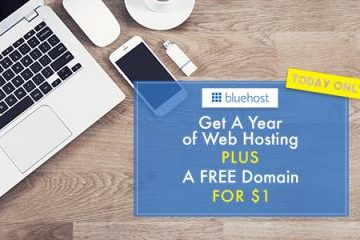 Free Domain + 1 Year of Web Hosting Only $1 Today Only!