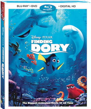 Finding Dory Now on DVD & Blu-Ray!