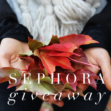 $200 Sephora Gift Card Giveaway (Ends 12/6)