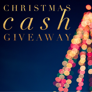 $200 Christmas Cash Giveaway (Ends 1/7)