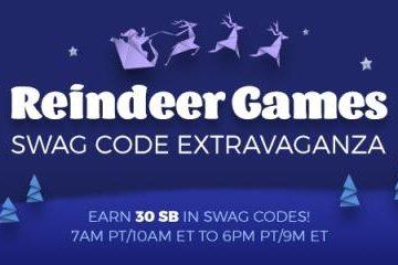 Swagbucks Swag Code Extravaganza: Reindeer Games
