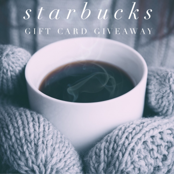 $200 Starbucks Gift Card Giveaway (Ends