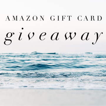 $500 Amazon Gift Card Giveaway (Ends 1/26)