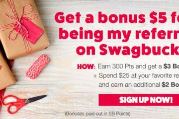 Swagbucks: Get a $5 Bonus for Signing Up This Month!