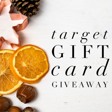 $200 Target Gift Card Giveaway (Ends 1/17)