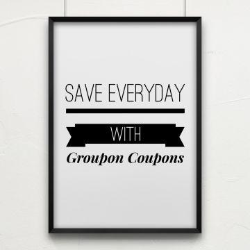 Save with Groupon Coupons #GrouponCoupons #ad