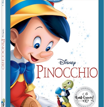 Pinocchio Arrives on Blu Ray & DVD 1/31!