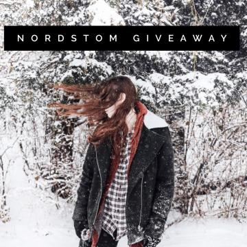$200 Nordstrom Gift Card Giveaway (Ends 2/2)