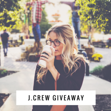 $200 J.Crew Gift Card Giveaway (Ends 3/1)