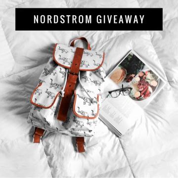 $200 Nordstrom Gift Card Giveaway (Ends 3/14)