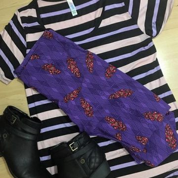 Trendy Tuesday: LuLaRoe Outfit of the Day 3/7