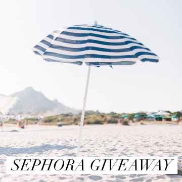 $200 Sephora Gift Card Giveaway (Ends 3/29)