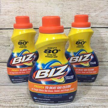 Biz: The No Nonsense Laundry Detergent (AD)