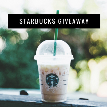 $200 Starbucks Gift Card Giveaway (Ends 3/23)