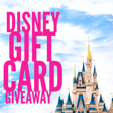 $250 Disney Gift Card #Giveaway (Ends 5/8)