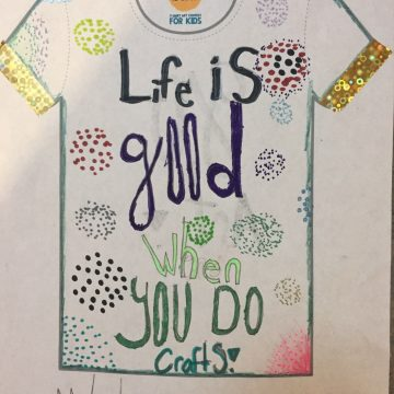 We Entered the Life is Good Tee Shirt Art Contest — You Can Too!