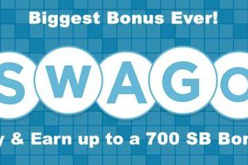 Time for April Swago!  700 Swagbuck Bonus!