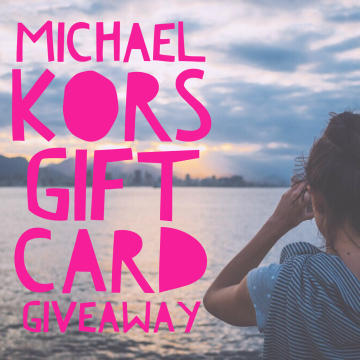 $200 Michael Kors Gift Card Giveaway (Ends 6/6)