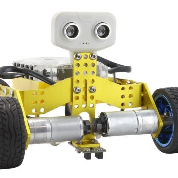 Tomo 2-in-1 Transformable DIY Programmable Robot Kit Review & #Giveaway