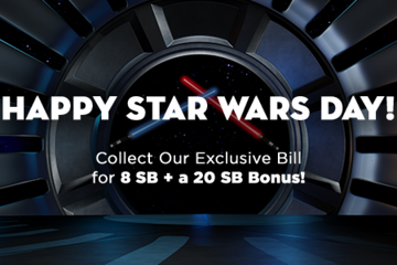 Swagbucks May The Fourth Collector's Bill