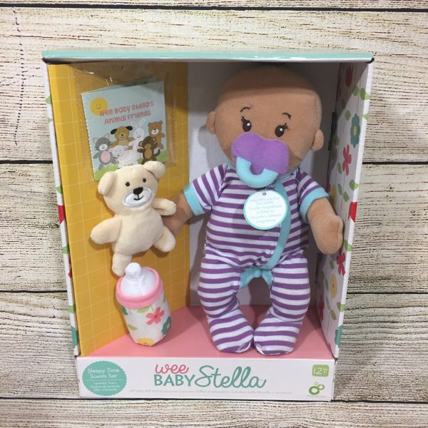 Wee Baby Stella Sleepy Time Scents Doll by The Manhattan