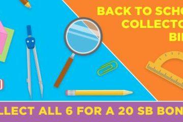 Swagbucks: Back to School Collectors Bills
