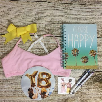 Yellowberry: Starting Back to School with First Bra! #Giveaway