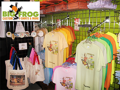 Austin 19 for 40 to spend at big frog custom t shirts for Custom t shirts austin tx