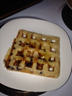 Dinner @ 6: Whole Wheat Waffles — Recipes Using 6 Ingreidents