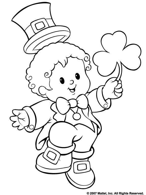 Free St. Patrick\'s Day Coloring Pages - Mommies with Cents