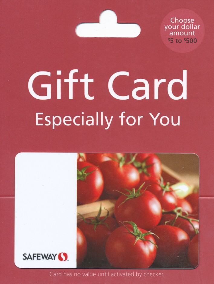 safeway gift card safeway just for u 100 gift card couponizer prize pack 7134
