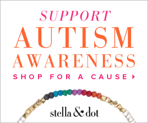 Stella dot supports autism awareness mommies with cents for Stella and dot jewelry wholesale